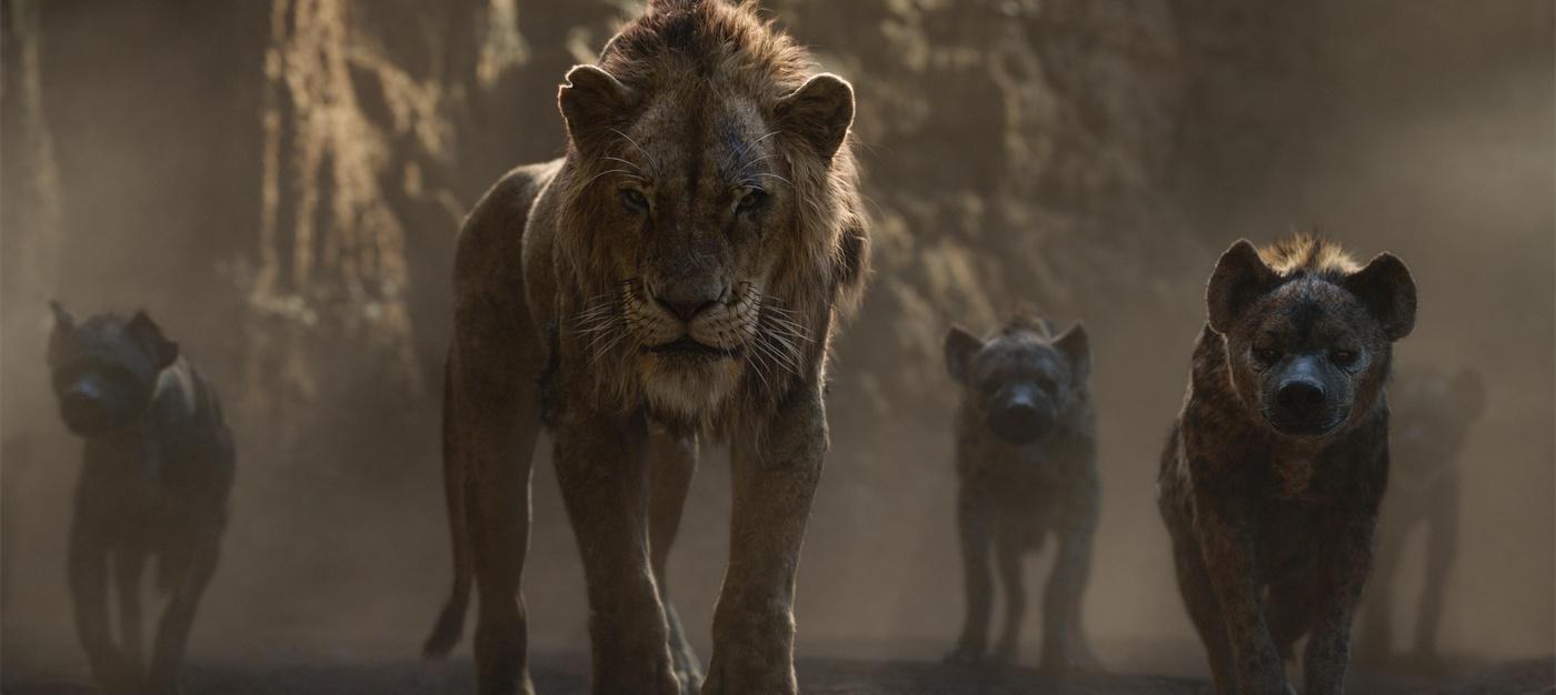 the lion king scar hyenas