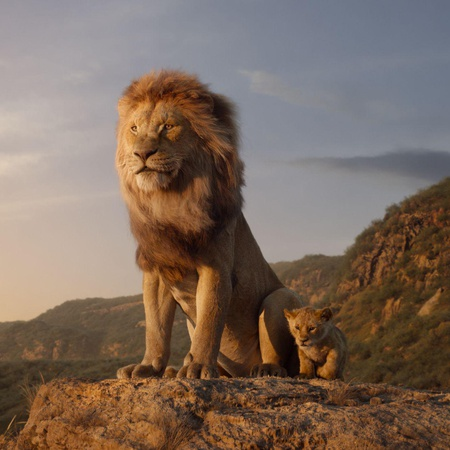 the lion king mufasa simba cub
