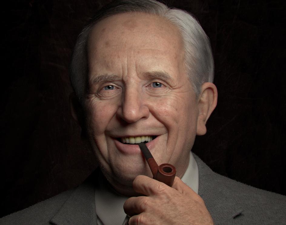 Portrait of J. R. R. Tolkienby Roger Magrini