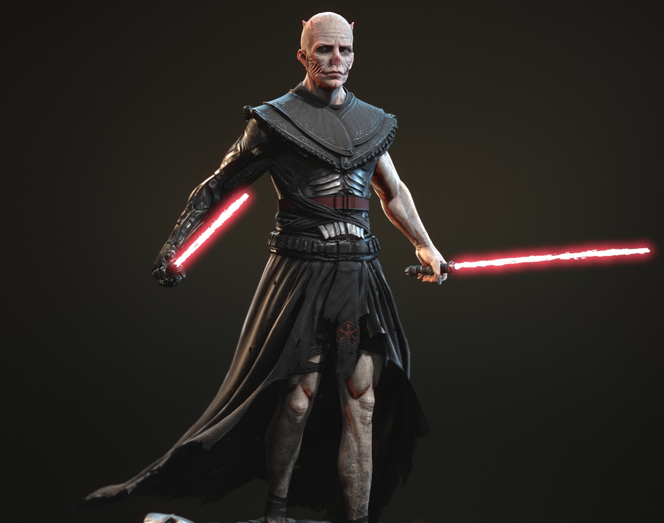 Sith Lord (Sith Nightmare)by 3dtm