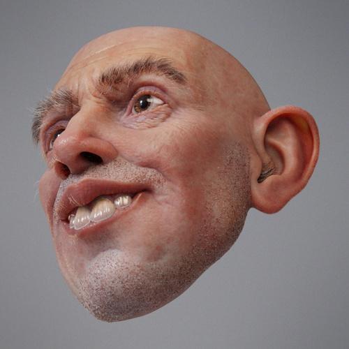 face, teeth, ears