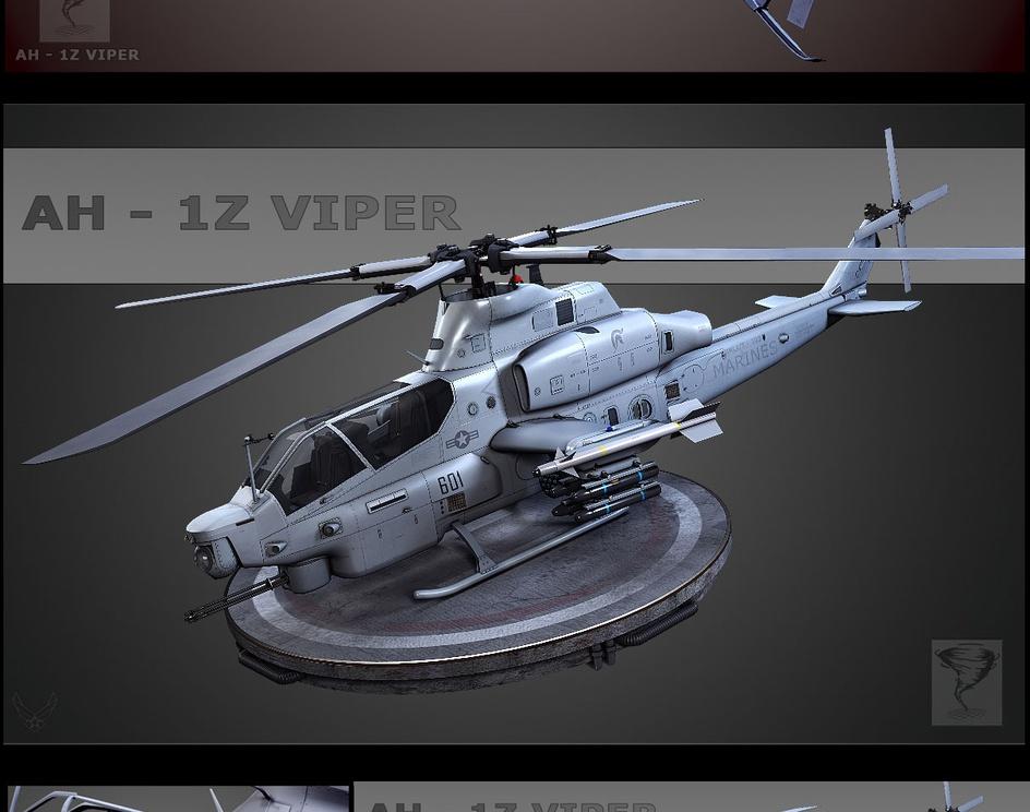 AH - 1Z Viperby TORNADO