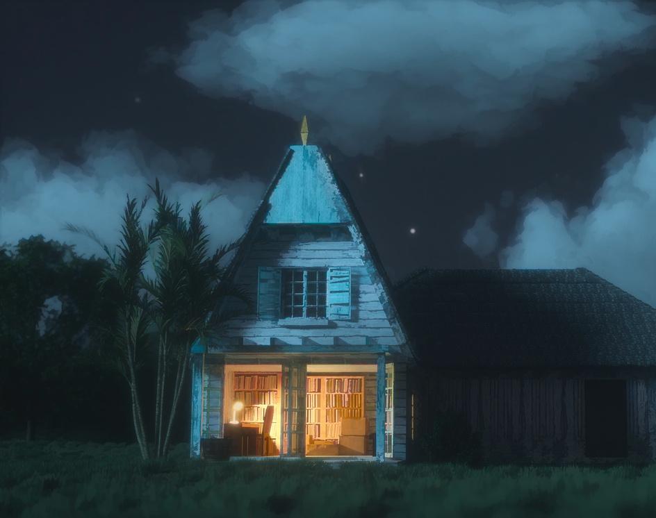 My neighbor Totoro's Houseby Tiago Scaff