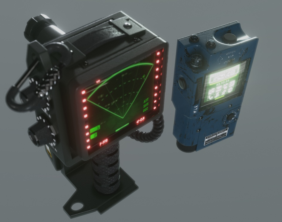 Tracker and Tuner Concept/Test Shot (Alien Isolation inspired fan project)by Nelson R Junior