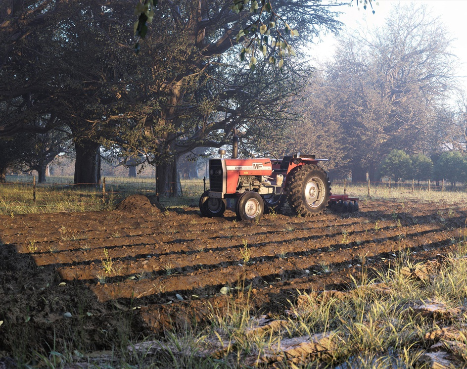 Grandfather  Tractorby artecnl