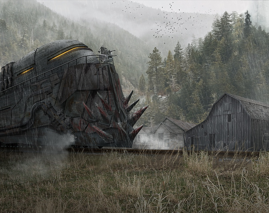 Apocalyptic trainby Danny kundzinsh