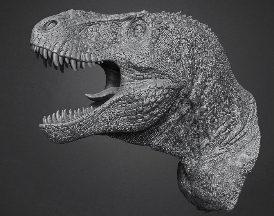Tyrannosaurus. The Jurassic Gamesby Vlad Konstantinov