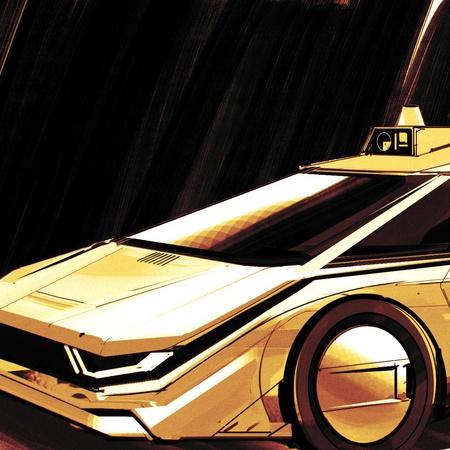 illustration copic marker 2d design advanced vehicle
