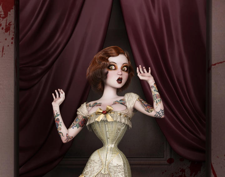 Twisted Dolls: The Butcher's Brideby Trinnity
