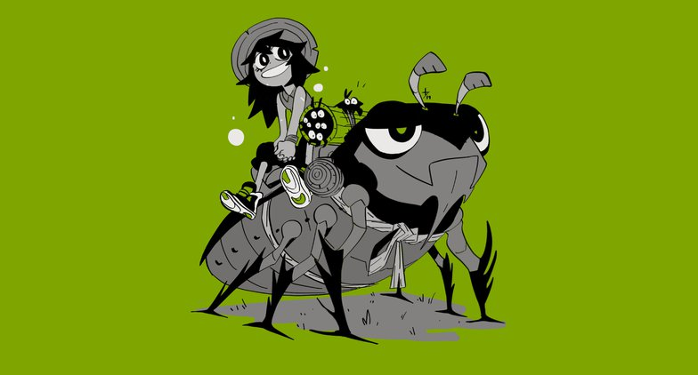mambabarang beetle and witch girl