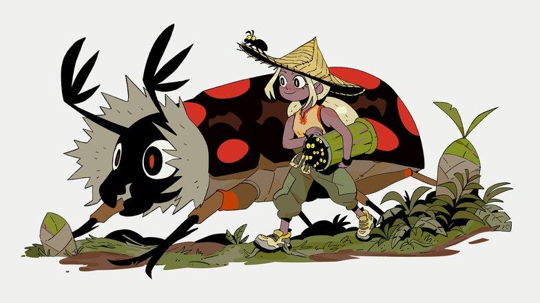 colour scheme fantasy illustration