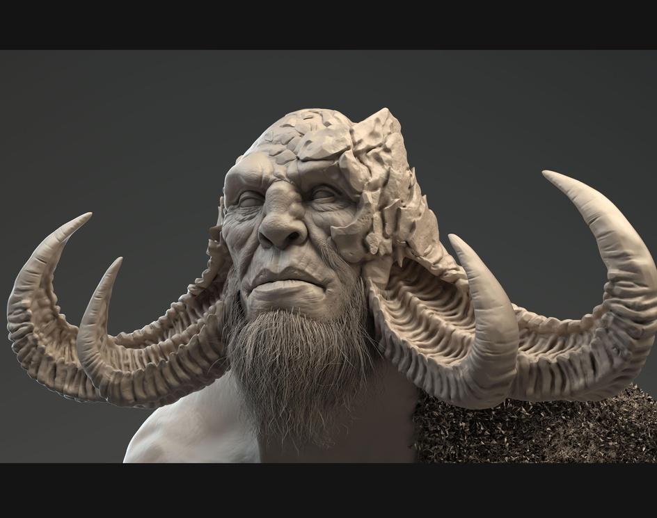 God of War Fanartby Javier Benver