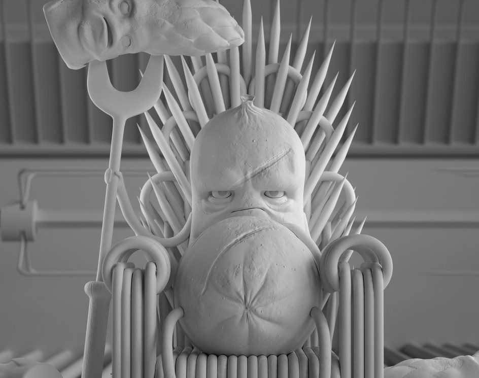 King in the BBQby Sergio Garrido