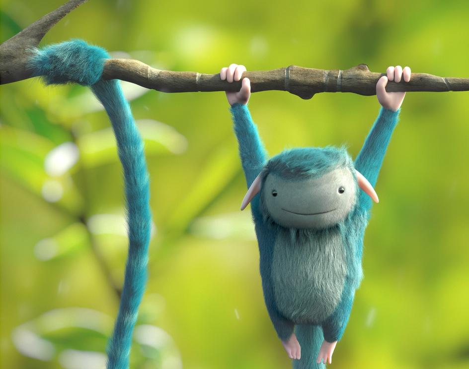 Blue Monkeyby Thales Simonato