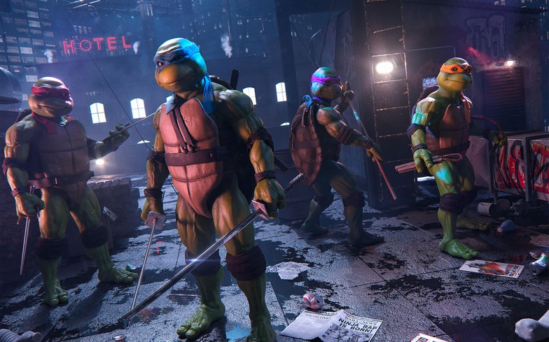 TMNT, teenage mutant ninja turtles, design