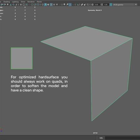 topology hard surface modeling 3d grading