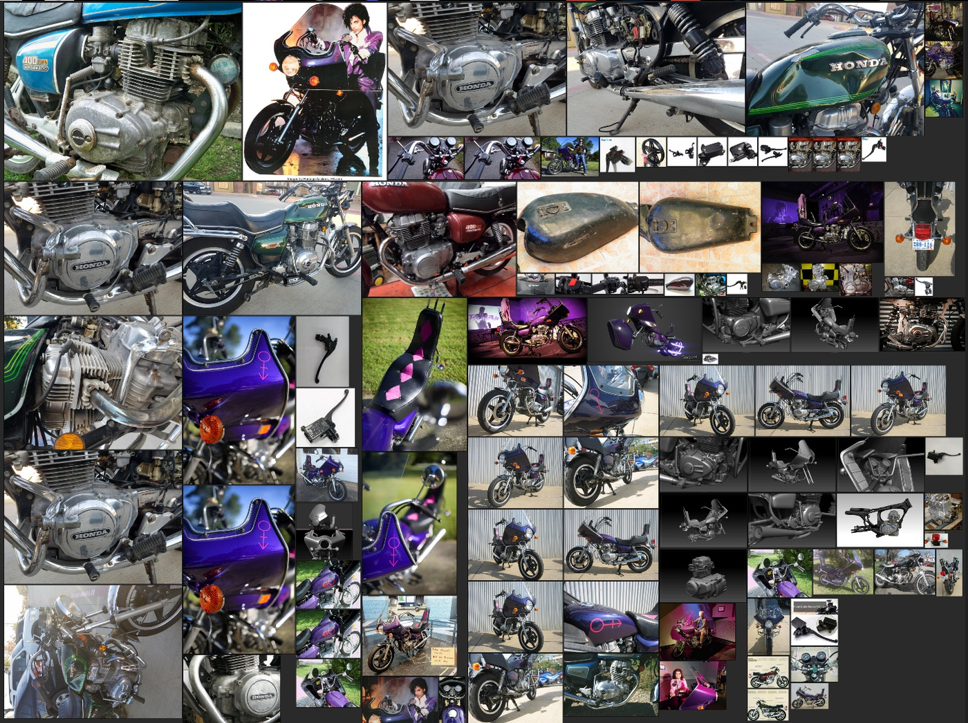 pureref research bike detailing references imagery
