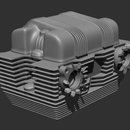 base shape ZBrush  Dynamesh  boolean 3d render vehicle parts 3d