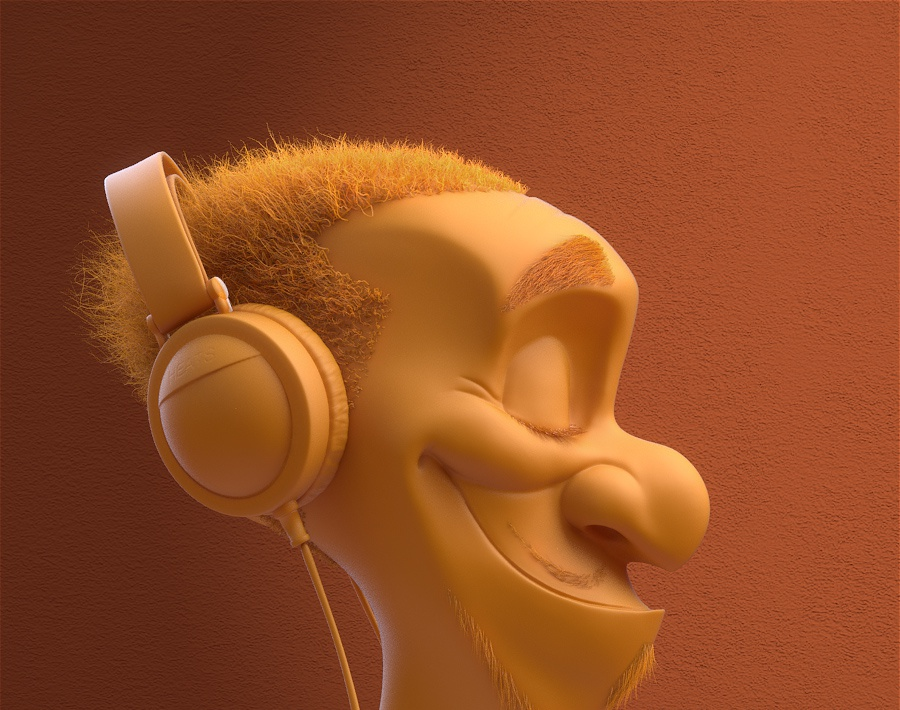 Headphone dudeby Tycane3D