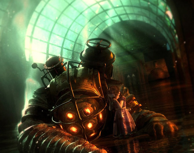BioShock Promotional Art-PWby TyroneMaddams