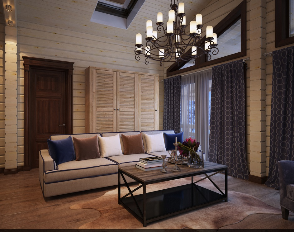 Contemporary Country House Interiorby Archviz.Studio