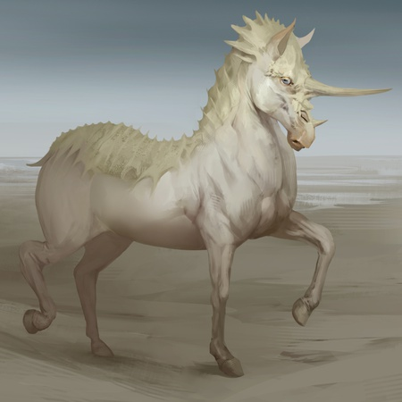 2d illustration digital digital art horse concept design