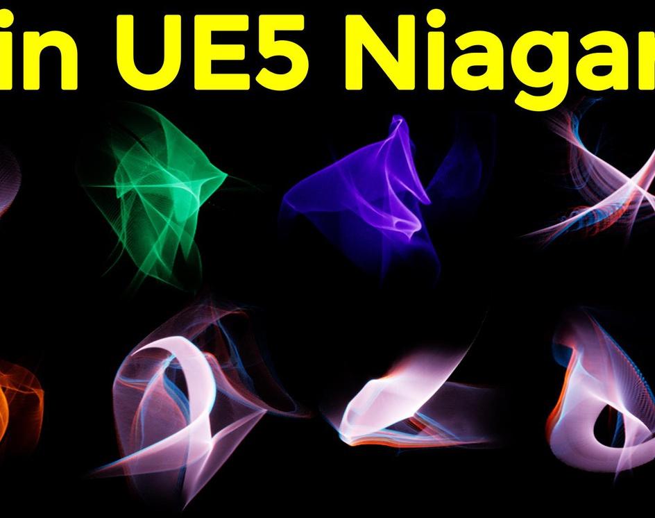 Unreal Engine 5 Niagara Tutorials   Download Project Filesby Ashif Ali