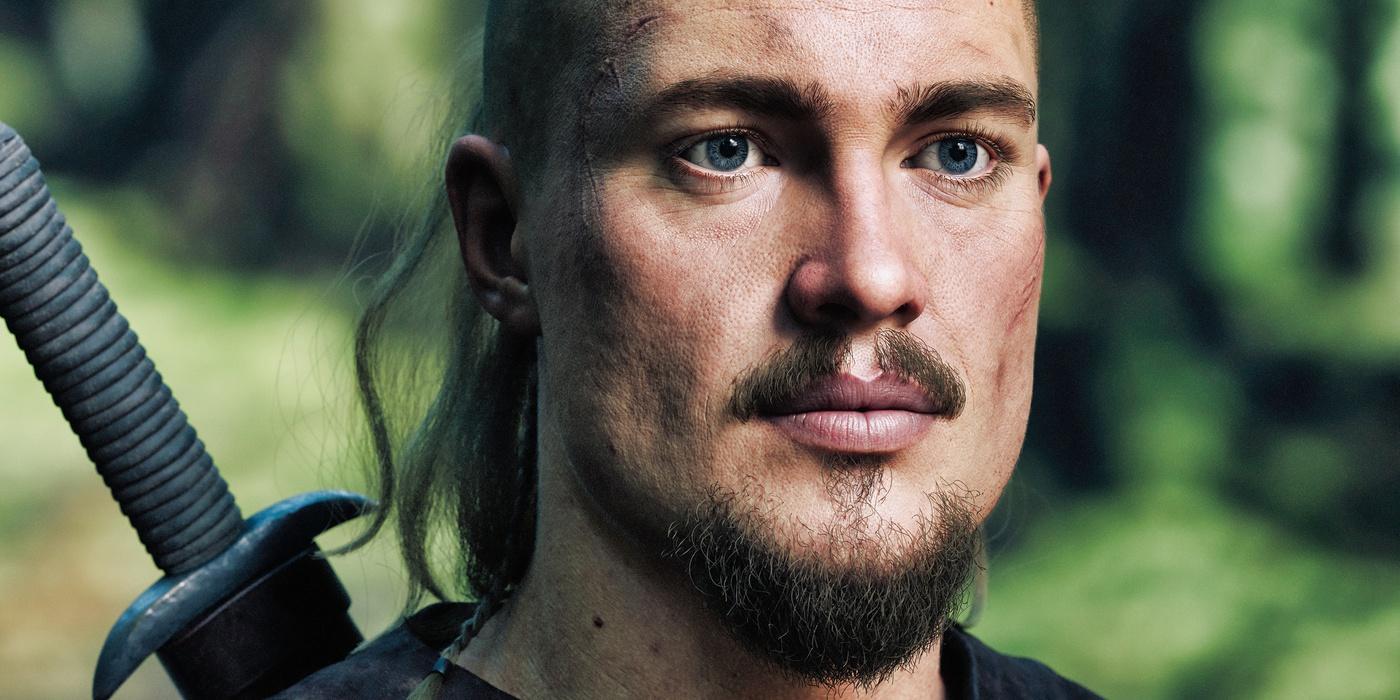 viking male model realistic render sculpt warrior battleaxe