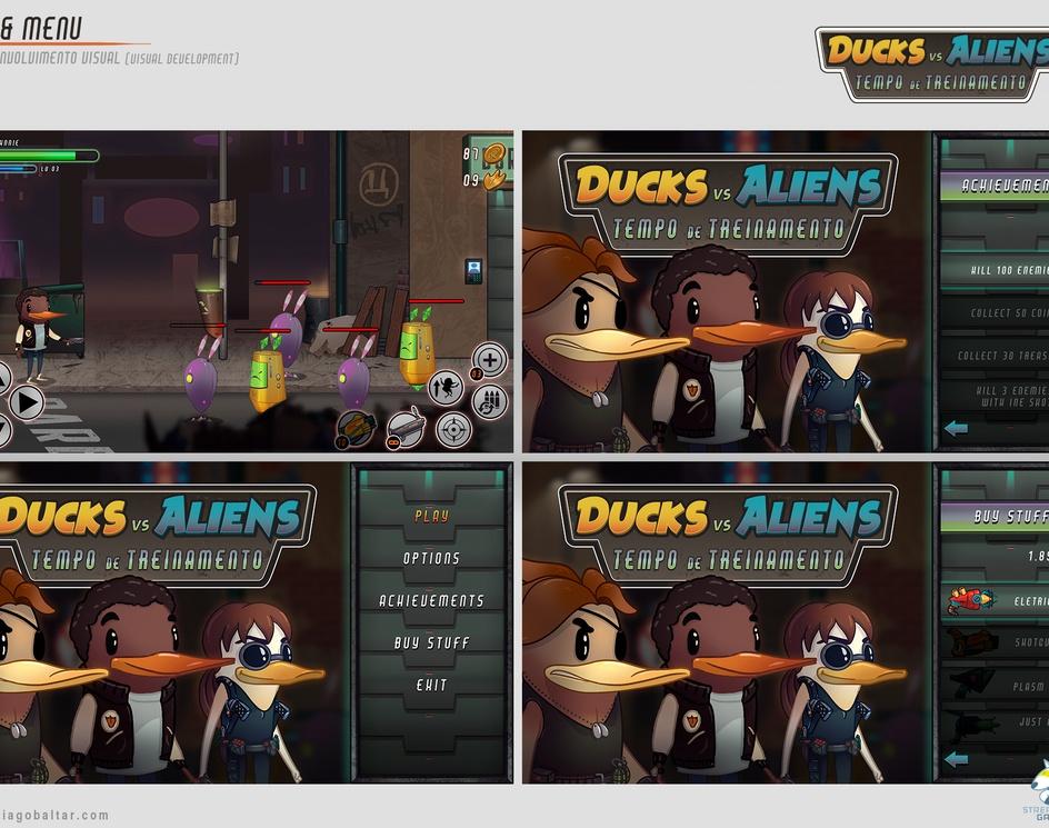 Ducks vs Aliens: Tempo de Treinamento   VISDEVby Thiago Baltar