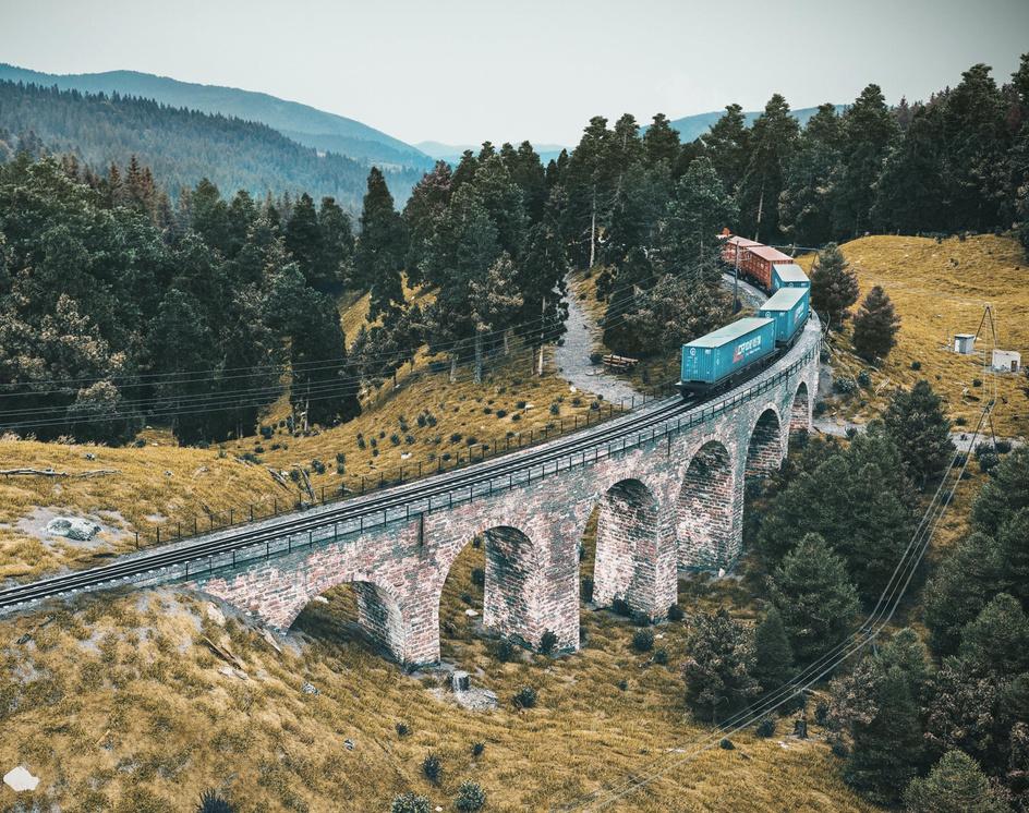 Railway Bridgeby ramiz vardar