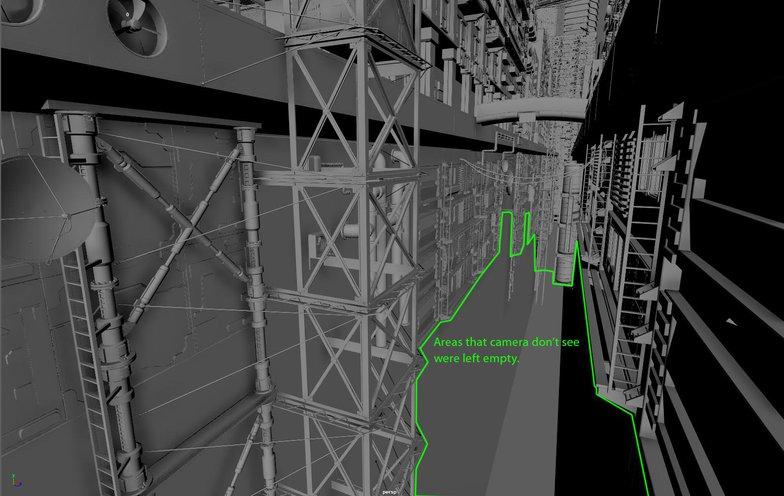 under city camera hidden imagery environmental 3d scape