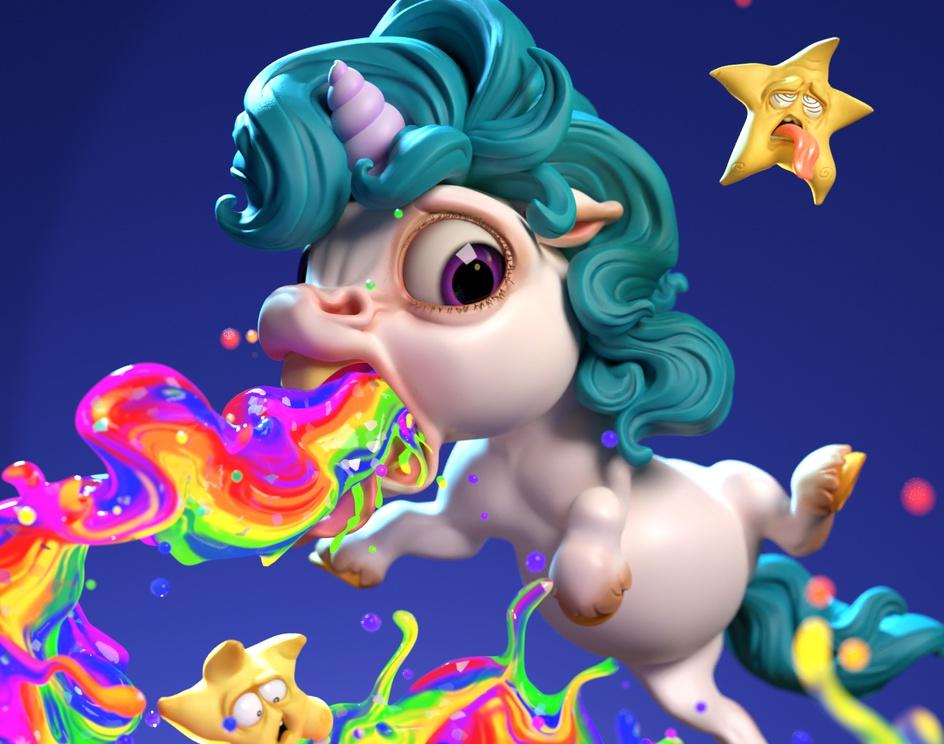 Birth of a rainbowby Fixelpuck Studio