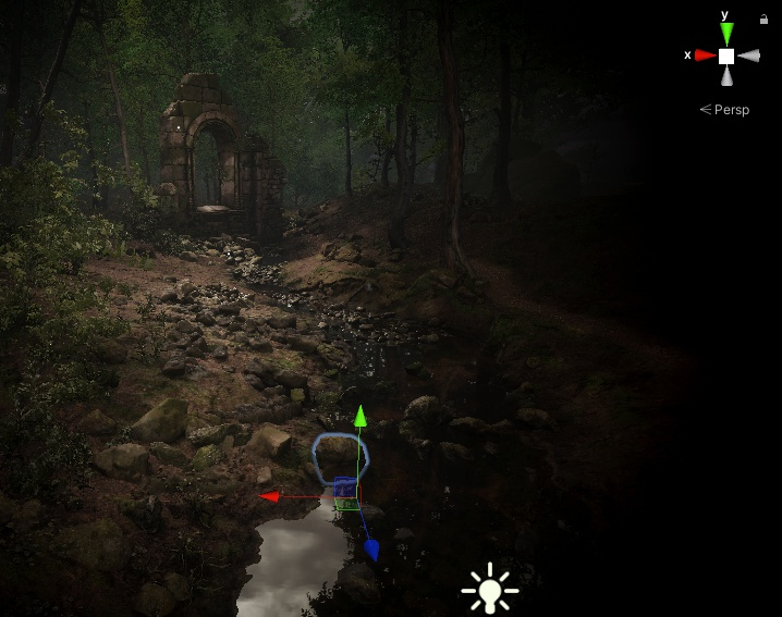 Unity Raytracing Forestby atrujo