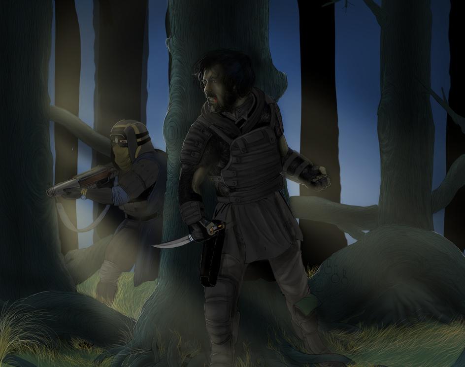 into the woodsby SINA KANDAR
