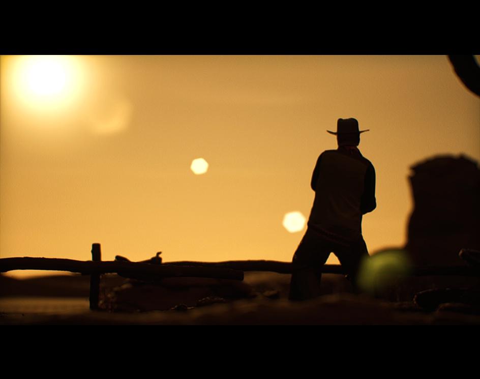 John Wayne CGI---IN DESERT---UNREAL5by Stathis Nikou