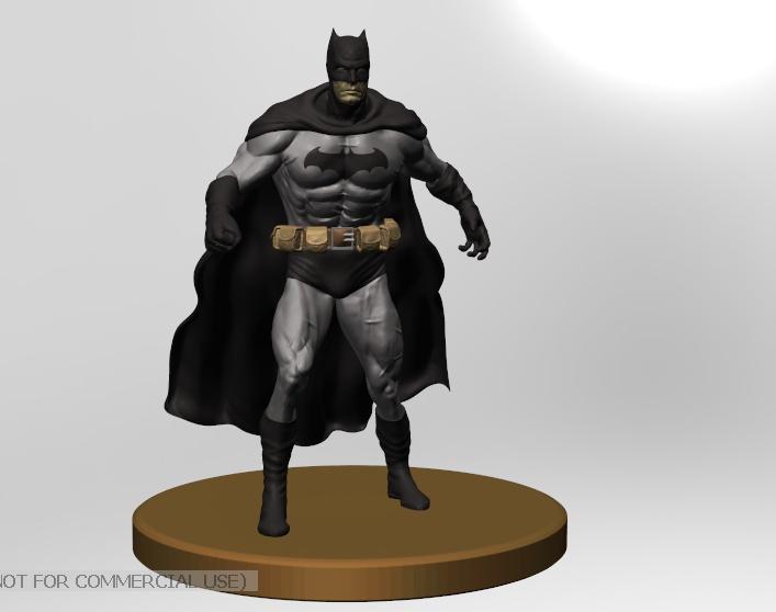 Batman 3d modelingby Gustavo Xavier