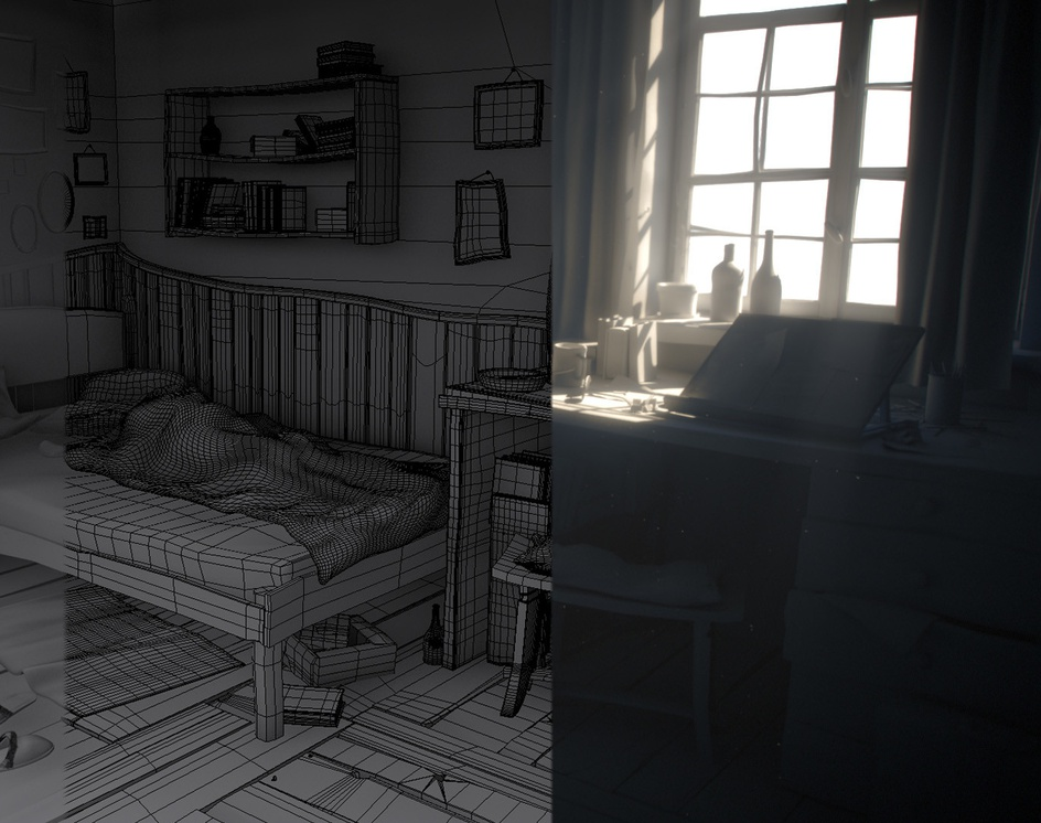 Morning roomby Miłosz Cieślikowski-Ryczko