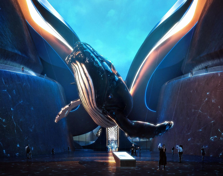 Tales of The Titan-The Whale Museum, Main Atriumby Michael Khoo