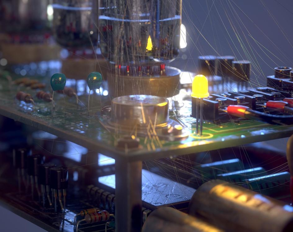Vacuum clockby Juraj Bezak