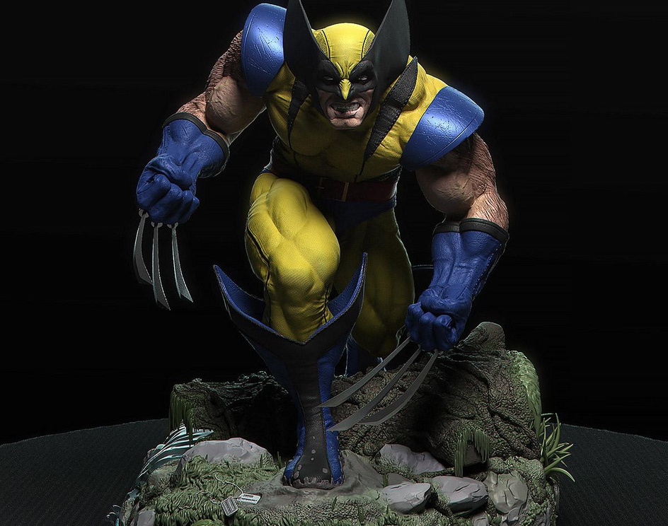 Wolverine based in Adam's artby claudio saavedra