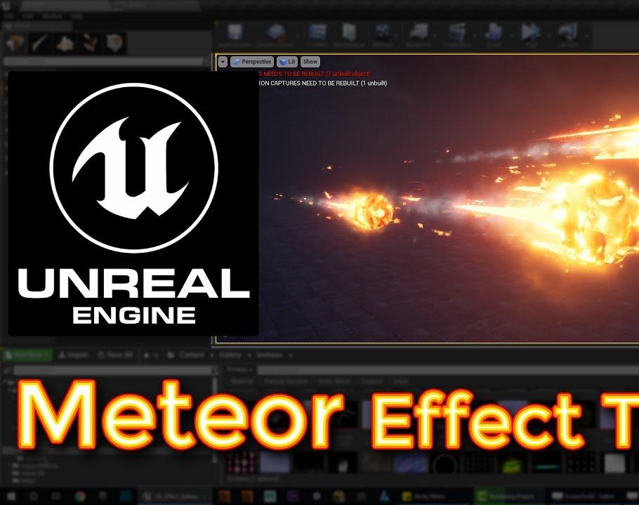 Unreal Engine Meteor Effect Tutorialby Ashif Ali