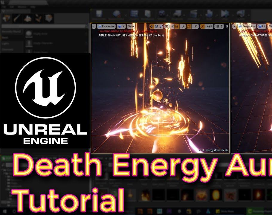 Unreal Engine Death Energy Aura Effect Tutorialby Ashif Ali