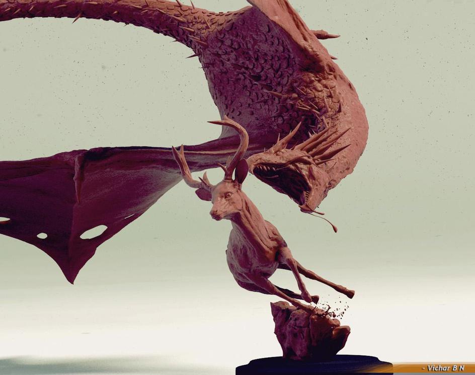 Hunting Dragonby vichar
