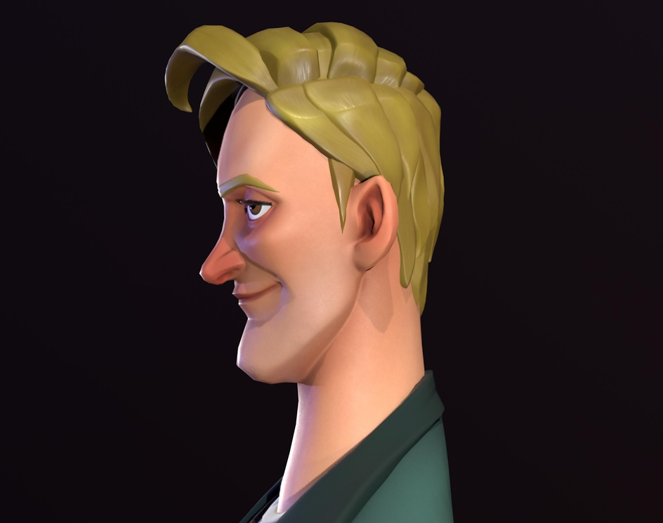 Bob (Simple American Cartoon Avatar)by Sadeq Hosseini