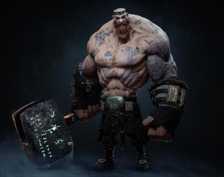 Jötunn (Viking Saga)by Talha Shamsi