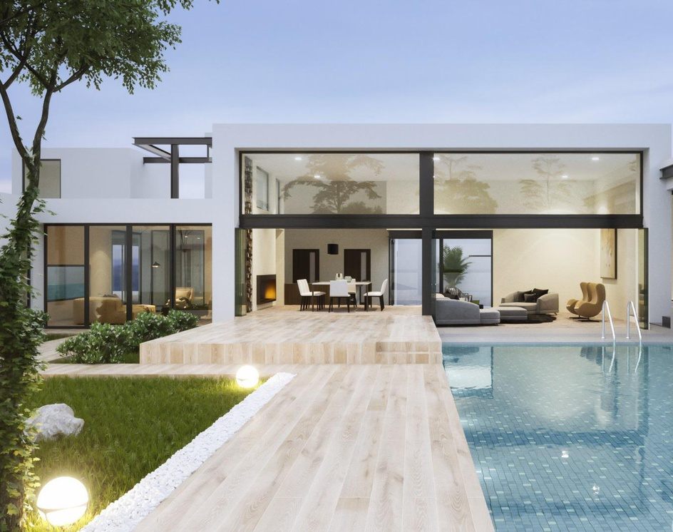 Modern and Luxurious Residence in USAby DEER Design