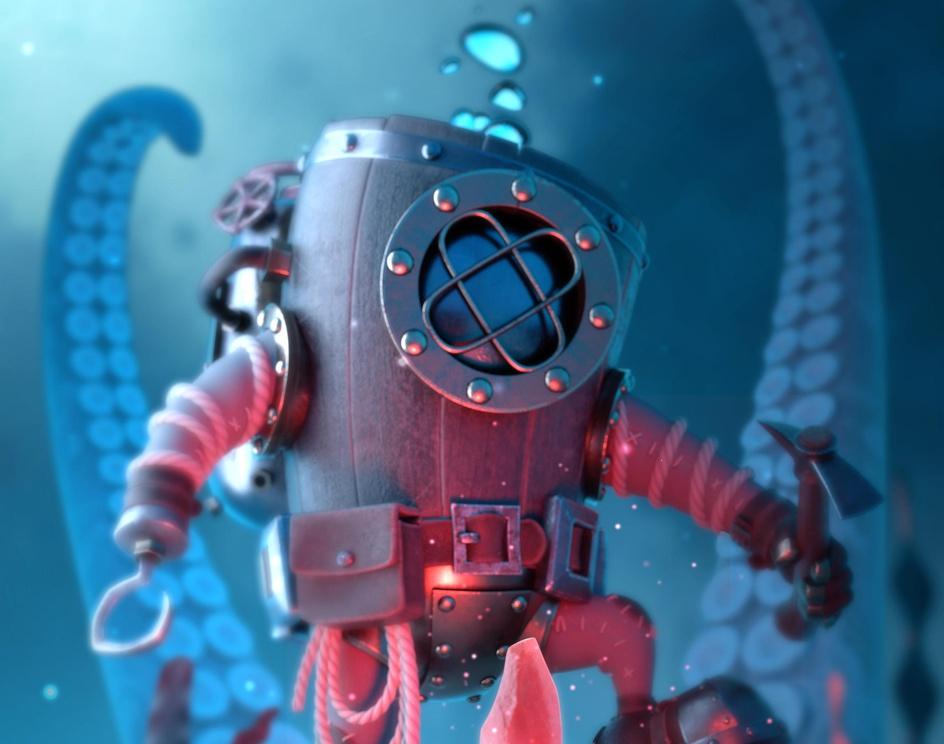Underwater Minerby Vincent Tonelli