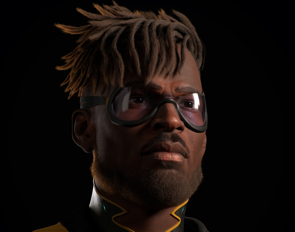 Virgil Hawkins - Static Shock - Fan Artby Vinicius Tokue