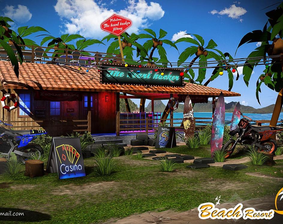 Beach Resortby Vishal Salgotra
