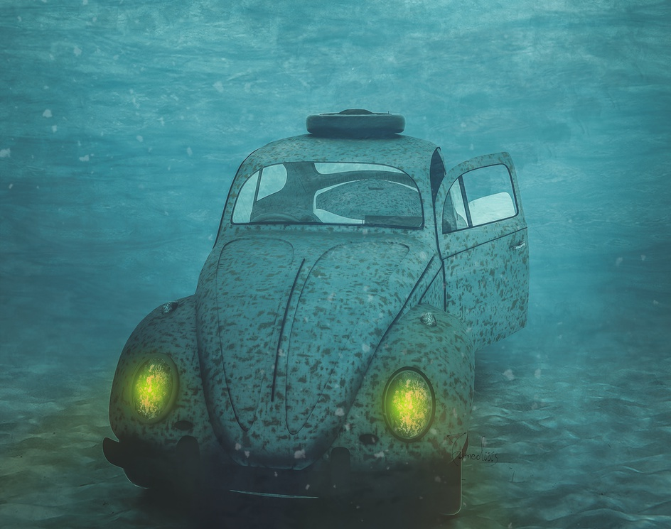 Volkswagen Underwaterby hamed mahzoon